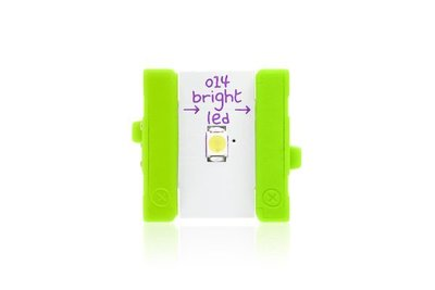 美國 littleBits 零件 (output):  BRIGHT LED  (8折出清)