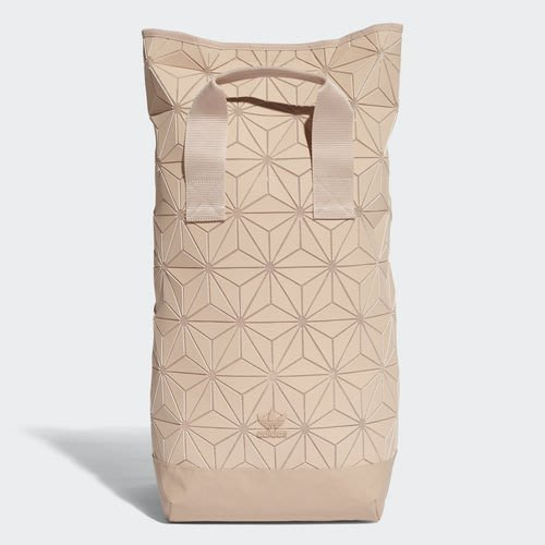 【Dr.Shoes 】Adidas Urban Backpack 裸粉 菱格紋 後背包 DT6296
