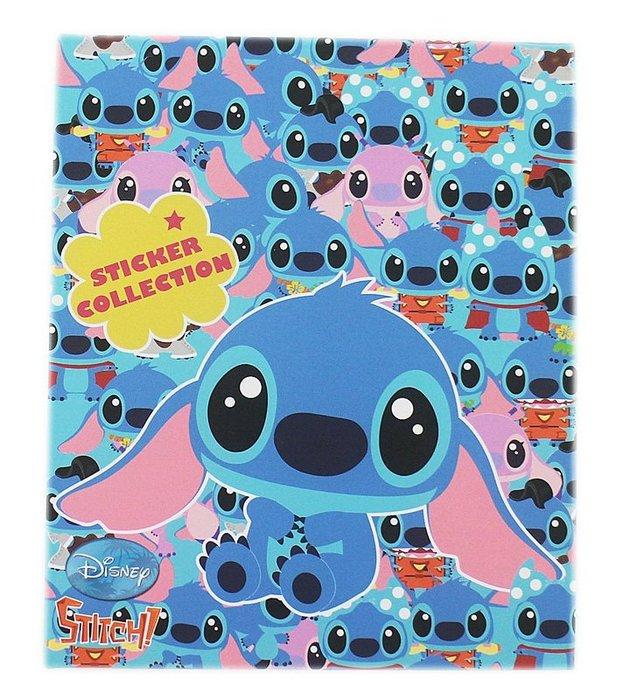 ~卡漫迷~ 史迪奇 貼紙 收集冊 ㊣版 收納本 星際寶貝 Stitch 醜丫頭 Scrum
