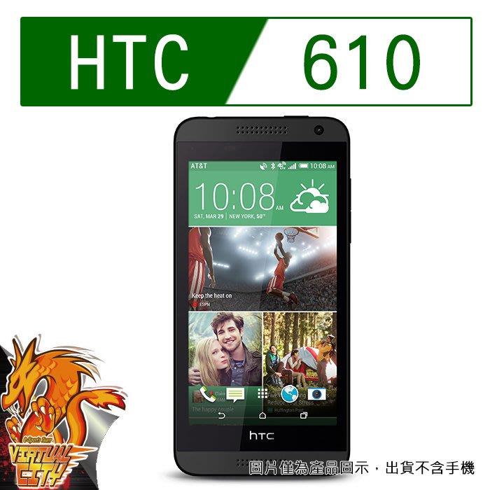 【桃園-虛擬城市】HTC Desire 610 -9H 玻璃膜螢幕保護貼