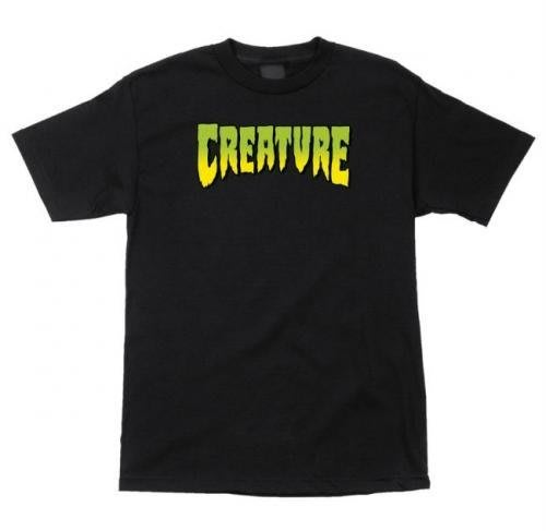 《Nightmare 》Creature Logo T-Shirt - Black