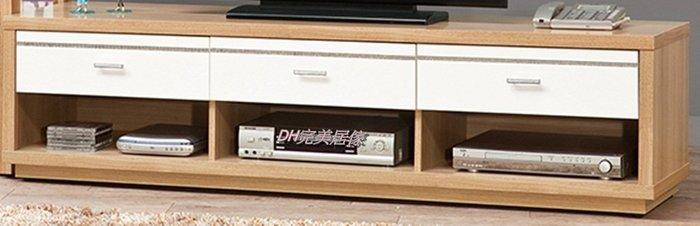 【DH】商品貨號vc653-4稱《米提》六尺雙色電視櫃 (圖一 )另有四尺長櫃(備有白色)主要地區免運費