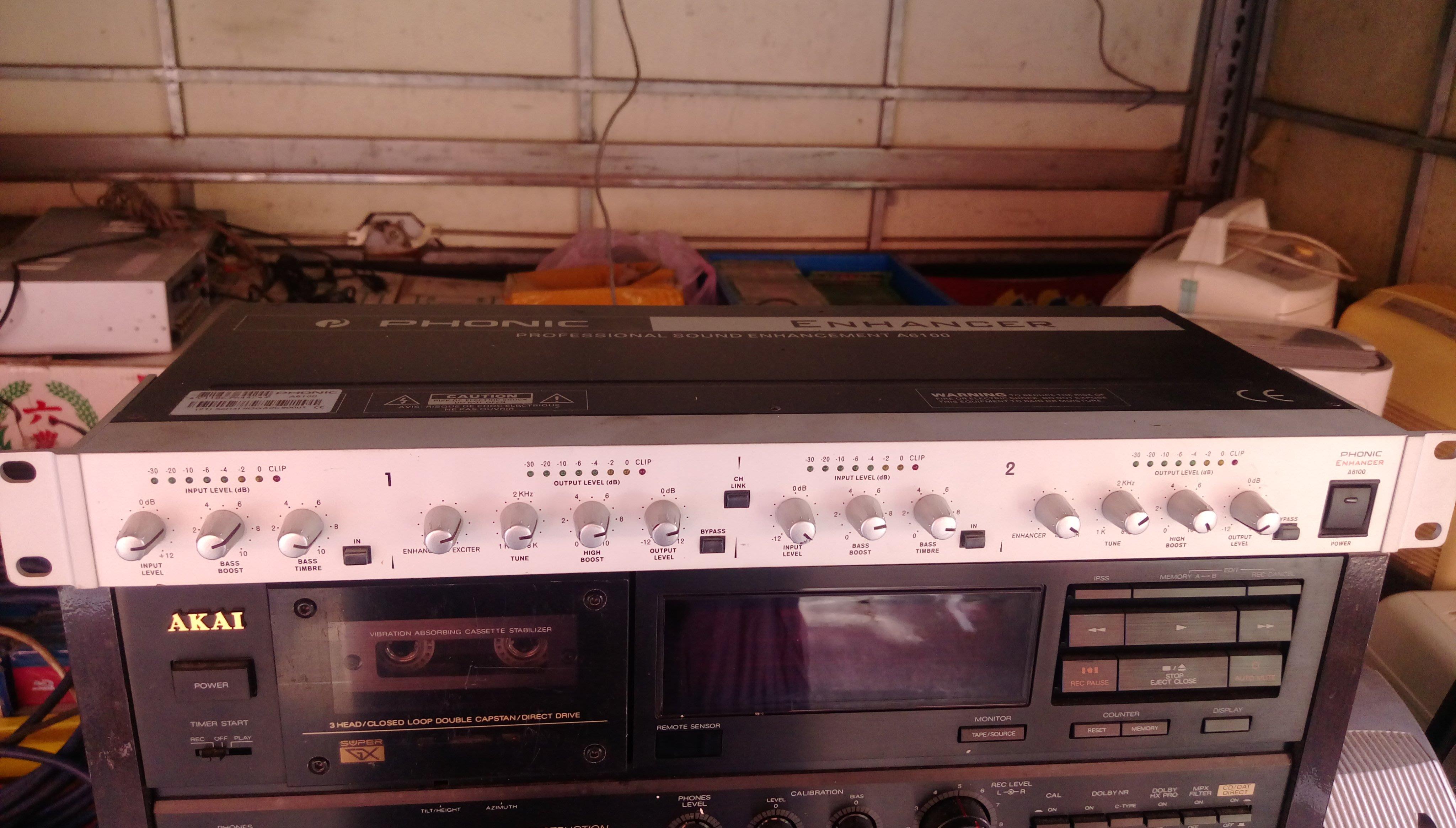 PHONIC ENHANOER A6100型 混音器