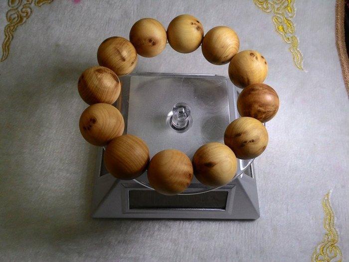 崖柏 樹榴 釘榴閃花 珍貴稀有 20mm (A002)【東大開運館】