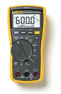 TECPEL 泰菱 》FLUKE 117 輕巧 數位型 萬用表 三用電表 電表 非接觸式