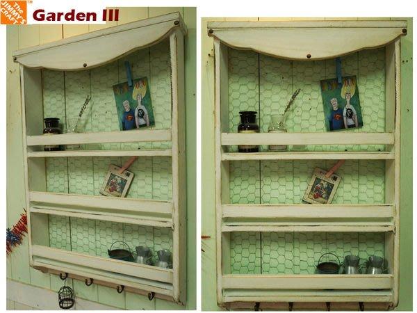 ZAKKA鄉村風壁架(木夾燭台壁架信箱壁櫃衣架收納櫃郵筒IKEA花台留言板裝潢窗台POP