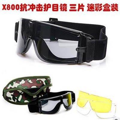 【護目鏡-含3個鏡片-1個/組】X80...