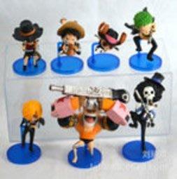 【紫色風鈴3】7款航海賊王盒裝模型 港版