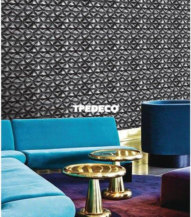 【大台北裝潢】IW馬來西亞現貨壁紙* 環保建材 幾何(3色) 每支580元