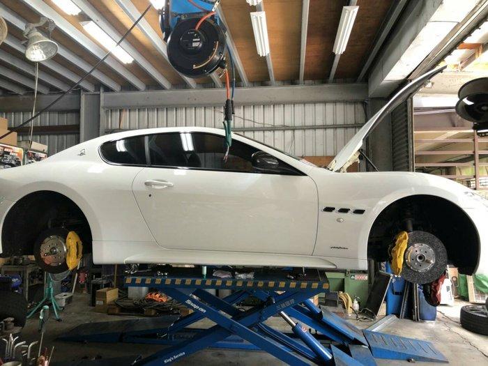 瑪莎拉蒂GT陶瓷煞車 Gran turismo 陶瓷煞車 碳陶瓷煞車