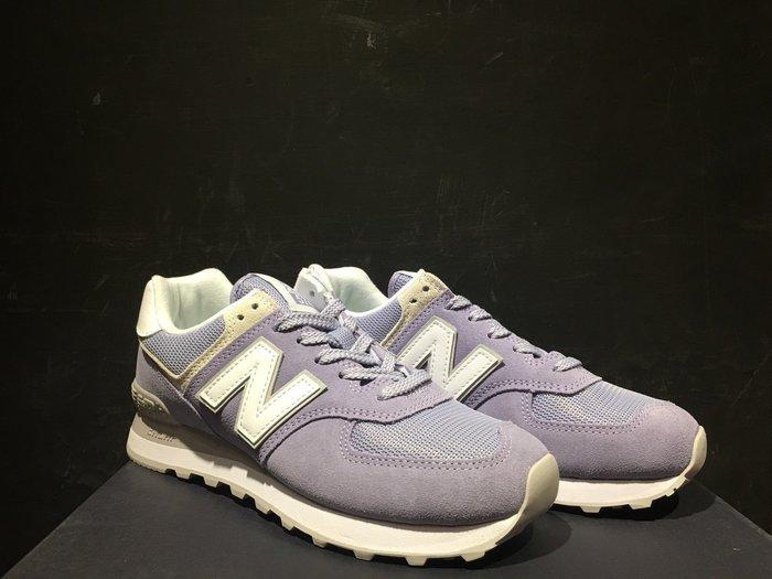 玉米潮流本舖 NEW BALANCE WL574ESV 女鞋 薰衣草紫色 馬卡龍 麂皮 經典 復古慢跑鞋