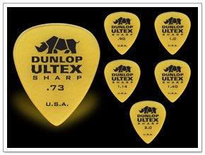☆ 唐尼樂器︵☆全新款 Dunlop ULTEX SHARP 木吉他/民謠吉他/電吉他/電貝斯 Bass Pick 彈片
