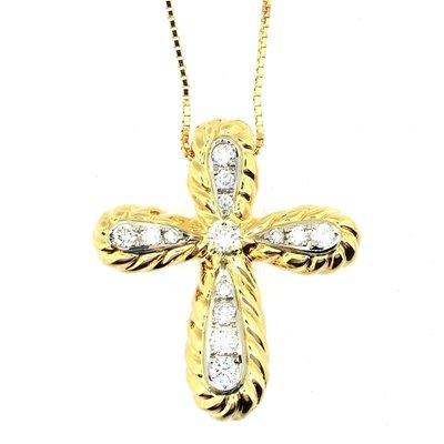 【JHT 金宏總珠寶/GIA鑽石專賣】0.40ct天然鑽石項鍊/材質:PT/18K(JB41-A40)