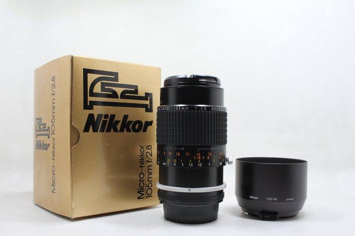 【高雄青蘋果3C】Nikon NIKKOR  Ais 105mm f2.8  Micro 手動鏡 二手鏡頭 #15303