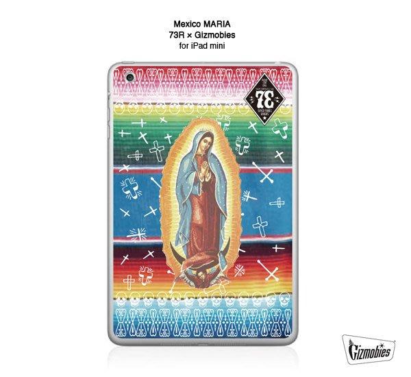 GOODFORIT / 日本Gizmobies 3M Scotchcal iPad mini墨西哥聖母保護貼