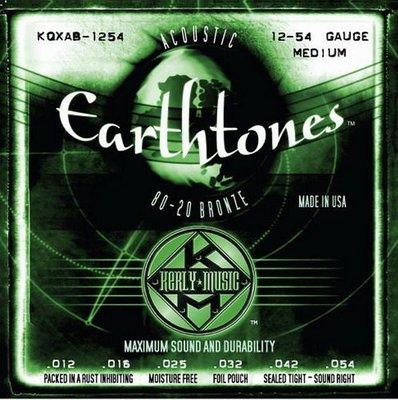 ☆ 唐尼樂器︵☆ Kerly Strings Earthtones 系列冰火弦 KQXF-BZ-1254 (12-54) 80/20黃銅美製民謠吉他弦