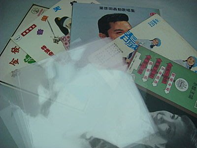 【柯南唱片】12吋(31公分)黑膠唱片透明保護外套袋//每包100張