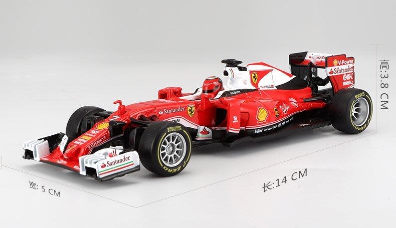 2016 法拉利 Ferrari  F1 5號 紅色 TP46802  1:32 合金車 模型 預購 阿米格Amigo