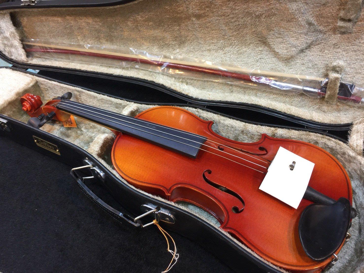我們不一樣 suzuki 新品 小提琴 1/2 日廠製作 僅一把