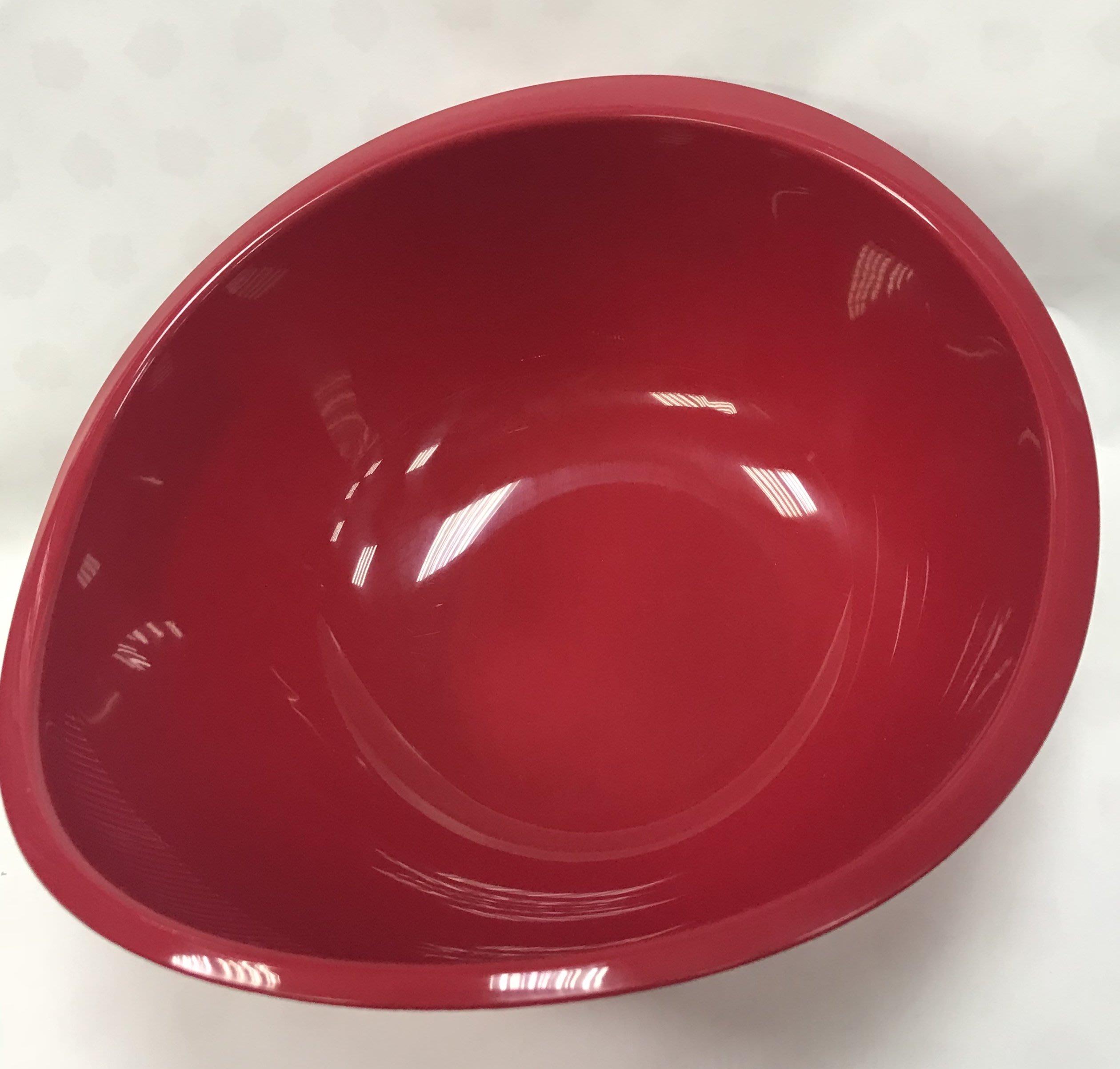 日本製efeil 紅色 濾水盆 瀝水器 洗菜盆
