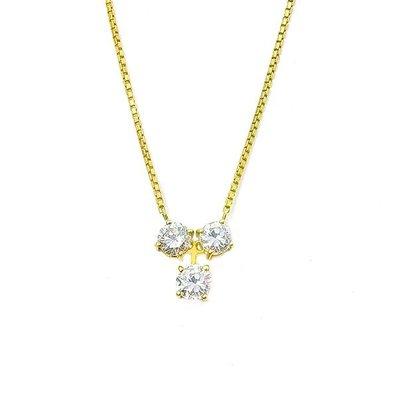 【JHT 金宏總珠寶/GIA鑽石專賣】1.028ct天然鑽石項鍊/材質:18K(JB14-D14)