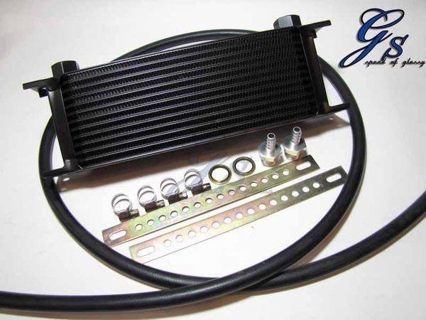☆光速改裝精品☆ 新款 13排 自排油冷卻器+耐壓油管+固定架-直購2999元~全新品