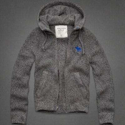 Abercrombie & Fitch 羊毛連帽外套 120-210-0116-011  MY-麋鹿嚴選全新真品