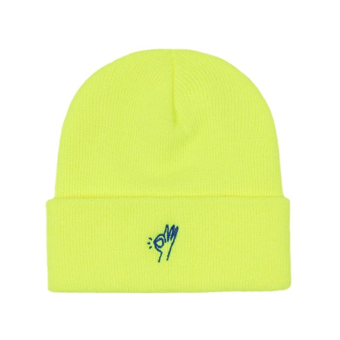《Nightmare 》ONLY NY OK Beanie - Safety Yellow