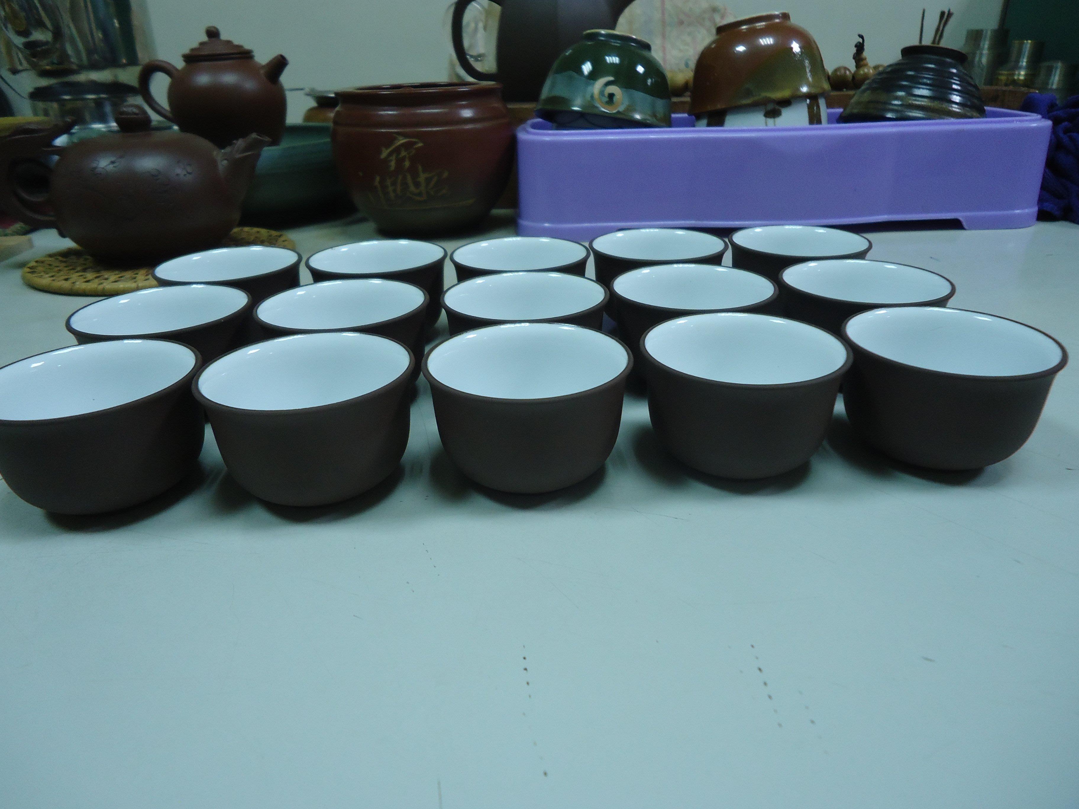 《壺言壺語》陸羽茶藝 品茶杯15只