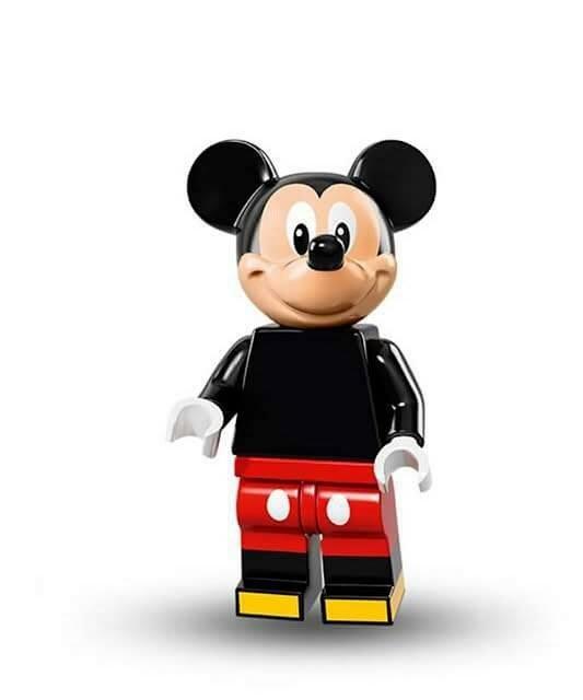 現貨【LEGO 樂高】Minifigures人偶系列: 迪士尼Disney 人偶包抽抽樂71012 | 米奇Mickey