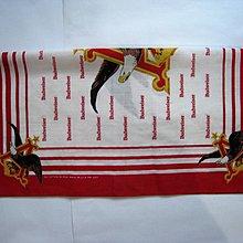 吳 #x27 R  珍藏 Budweiser 頭巾  領巾   百威 logo款 特別價