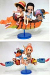 【紫色風鈴3】動漫周邊批發103代6款海賊王龍宮王國篇袋裝手辦