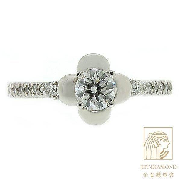 【JHT 金宏總珠寶/GIA專賣】婚戒/鑽戒 女鑽石戒台 (不含搭配主鑽)JRS001