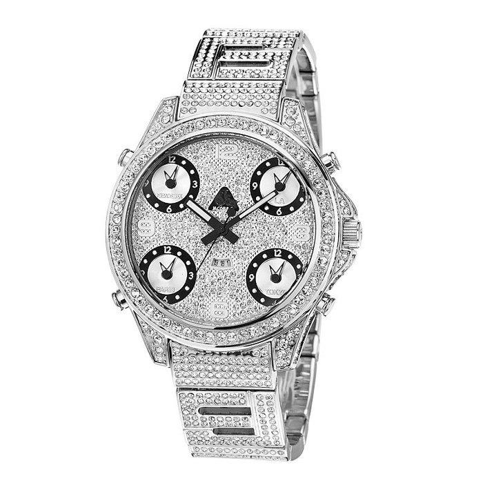 Cover Taiwan 官方直營嘻哈手錶鑽錶滿鑽水鑽大錶面滿天 6c77d33ffe