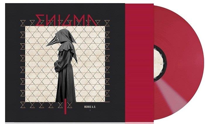 謎 Enigma 首張專輯 McMxc A.D. (Red Vinyl) /限定紅膠 全新未拆封