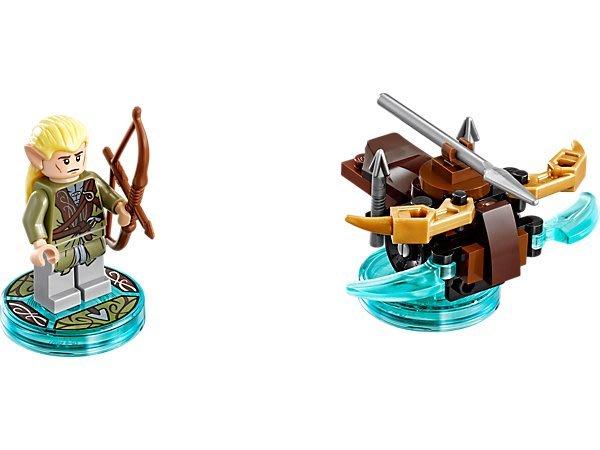 【LEGO 樂高 】100% 全新美國正品 益智玩具 積木/ 魔戒 三合一次元系列 神射手 Legolas 71219