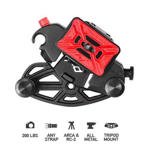 呈現攝影-美國design CapturePRO(強化快板) 相機快夾系統 ARCA/MANFROTTO 夾式/RC2