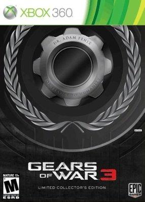【二手遊戲】XBOX360 XBOX 360 戰爭機器3 gear of war 3 限定版 中英合版 台中恐龍電玩