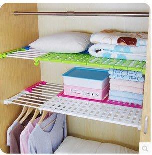 櫥櫃分層可伸縮隔板(特大) 支架 浴室 廚房 宿舍 免釘 置物 收納 衣櫃 鞋架 層板 置物櫃 可伸縮分隔層架