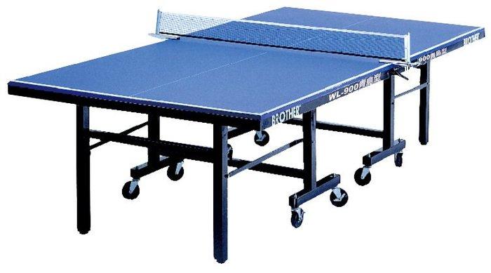 Brother兄弟牌青島型25mm專業桌球檯,進口球桌專用纖維板25mm,桌球協會公認標準規格桌球檯。