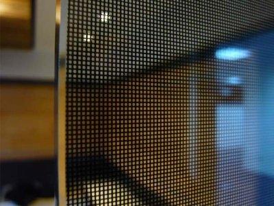 (HF居家隔熱紙)  802黑網紗 玻璃貼紙 防水窗貼 乾溼分離 室內設計 室內裝璜 窗簾 浴簾貼