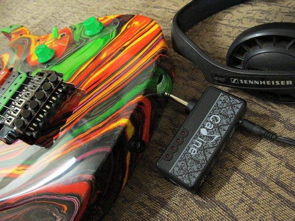 ☆ Tony Music 唐尼樂器︵☆ Cadine 充電式內建破音電吉它/ Bass 電貝斯隨身音箱前級模擬 Mini Amp