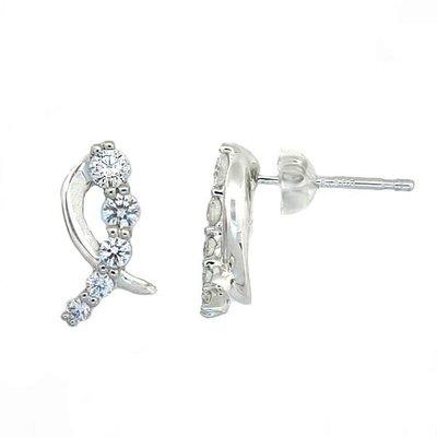 【JHT金宏總珠寶/GIA鑽石專賣】0.50ct天然鑽石耳環/材質:PT950/PT900(JB42-A31)