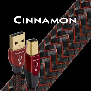 【音逸音響】USB 傳輸線》美國 audioquest Cinnamon (1.5米)