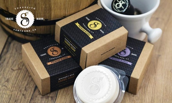 GOODFORIT/ 加州 Suavecito Premium Blends Shave Soap 修容皂 /三款