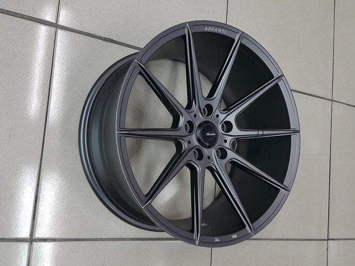 ╭☆輪鋪☆╯全新 MAT16 旋壓輕量化鋁圈 18吋5孔120 平光灰-BMW /E46/E90/F10/F30