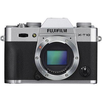 【高雄四海】Fujifilm X-T10 單機身.全新平輸.一年保固.銀/黑雙色可選.另有鏡頭可選購