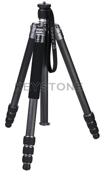 呈現攝影-Jusino JK-425C (銀) 四節反摺 碳纖維腳架 可反折/單腳架 高155低23 公司貨