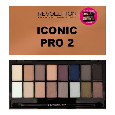 【愛來客】英國Makeup Revolution Iconic Pro 2 Palette 16色眼影盤
