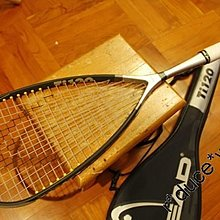 店長推介 高級靚拍 Head Ti.120 PowerZone Squash Racket 壁球拍 ~ 120g (Titanium), Made in Austria ~ 90% New